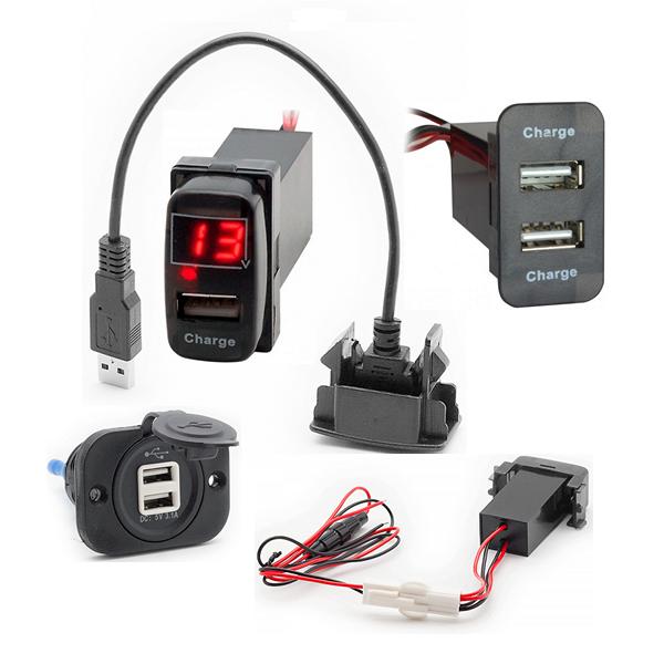 USB-подовжувачі та зарядні пристрої